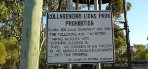 Colli has a high Aboriginal population. These laws apply to everybody not just the indigenious population.