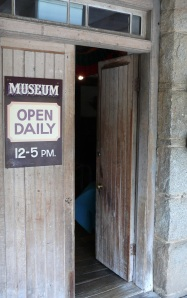 Entrance to the Mill Museum, which, strangely was once a...Mill.. Uralla, New England District, NSW.