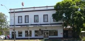 The Royal Hotel, Seymour, Victoria.