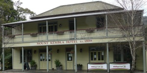 Mt Kembla Village Hotel, Mt. Kembla New South Wales.