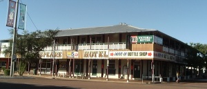 Shakespeare Hotel, Barcaldine, Queensland.