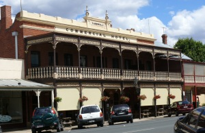 Commercial Hotel, Beechworth, Victoria.