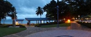 Sunrise at Airlie Beach.