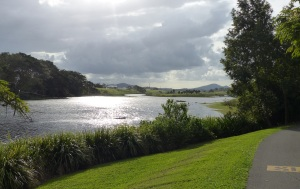 Mackay Botanical Gardens and Wetlands Lagoon.
