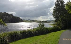 Mackay Botanical Gardens and Wetlands Lagoon.