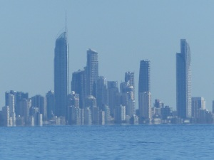Surfers Paradise skyline seen from Kirra Beach. I am unsure why but I never seem to tire of this view.