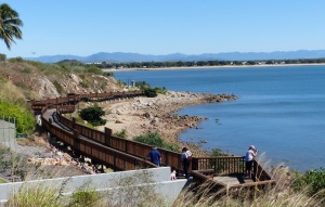 Walkway from Kissing Point to Rowes Bay completed in 2013.