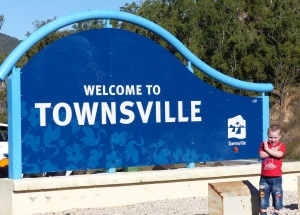 Welcome top Townsville from Harvey's Range. Another pink granite mountain.