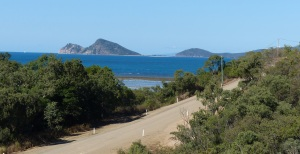Road to Montes looking over Hideaway Bay.