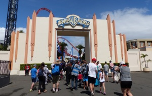 Entrance to Movie World on the Gold Coast.