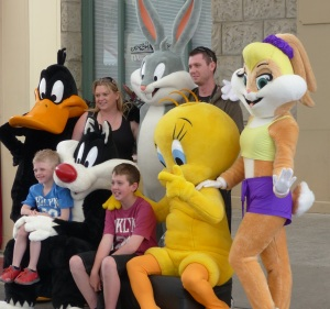 Some of the Looney Tunes crew.