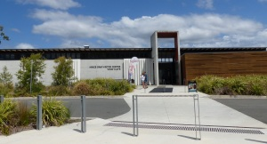 Hinze Dam Visitors Centre.
