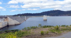 Hinze Dam Wall.