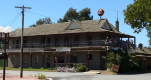 This pub at Ardlethan NSW started life as a ...coffee house. October 2012.