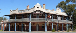 This hotel at Gainman in NSW was closed and had been for some time. Broken windows and signs and everywhere a patina of dust and desolation. The town itself fared no better. Sadly the town was in decline. An indicator is the railway no longer comes to this town.