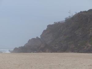 Headland at Nobby's Beach.