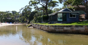 A delightful old house on Bundeena Creek.