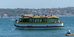 The old Bundeena / Port Hacking Ferry.