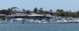 This is the St George Motor Boat Club. It featured most weeks in the award winning Australian television series Packed To the Rafters with the ageless Rebecca Gibney as lead actress.