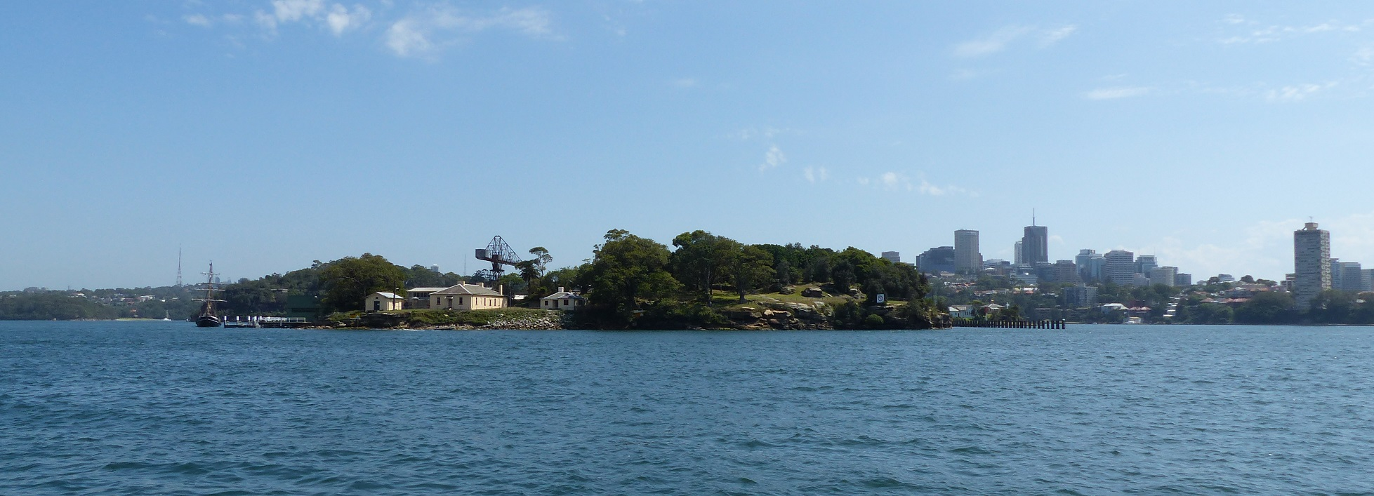 how to get to goat island sydney