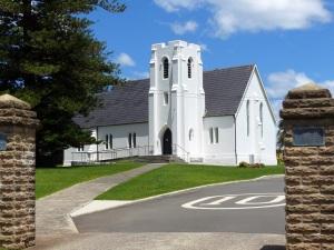 Anglican church at Kiama.