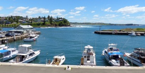 Robertson Basin otherwise known as Kiama Harbour.