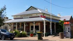 Warialda Post Office built 1880.
