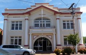 Warialda Returned Soldiers Memorial Hall.