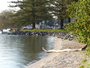 Early morning on the Broadwater at Hollywell