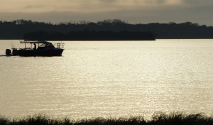 Early morning on the Broadwater at Runaway Bay