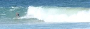 Big waves require big courage.