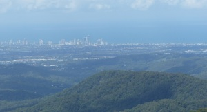 Yet another view of the Gold Coast. This time from one of many lookouts on the escarpment at Springbrook.