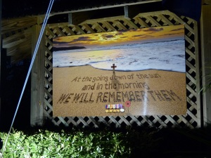 A mural was unveiled at our Dawn Service.