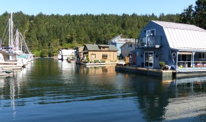 Floating Houses Maple Bay.