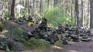 Multiple Rock Cairns