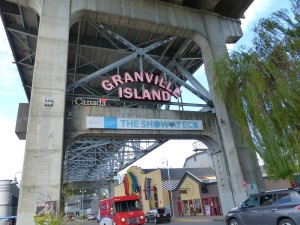 Entrance to Granville Island.
