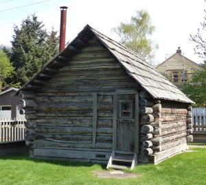 "First home of prominent early settler William ""Billy"" Moore."