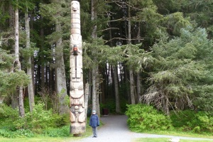 Entrance to self guided Totem Walk.