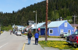 This is the main shopping centre of Hoonah.