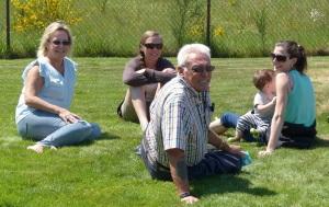 Linda Alecia Jessica with Jaxson and Doug
