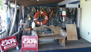 Restaurant not yet open for the summer season.
