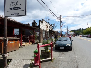 Cowichan Bay Shops.
