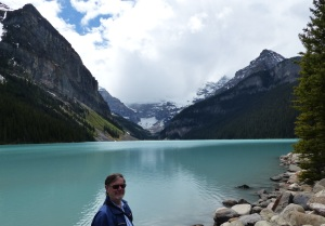 Hmmm Frank at Lake Louise again.