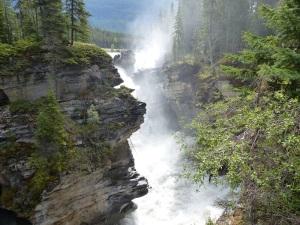 More Athabasca Falls
