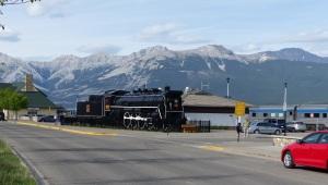 Jasper View along the main road.