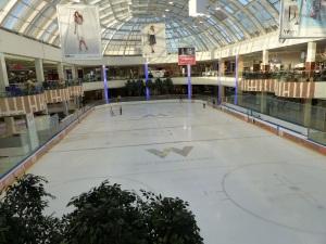 Skating Rink at the mall.