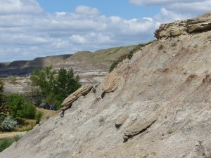 Drumheller Badlands.