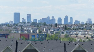 Calgary from the suburbs.