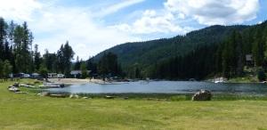 RV Resort on Moyie River.
