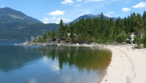 Crawfords Bay on Kootenay lake.